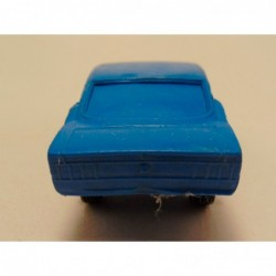 Audi A4 1:43 Minichamps zilverkleurig
