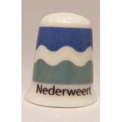 Own digital photo logo advertising on porcelain pillbox