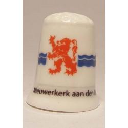 Eigen digitale foto logo reclame op een porselein olie peper en zoutstel