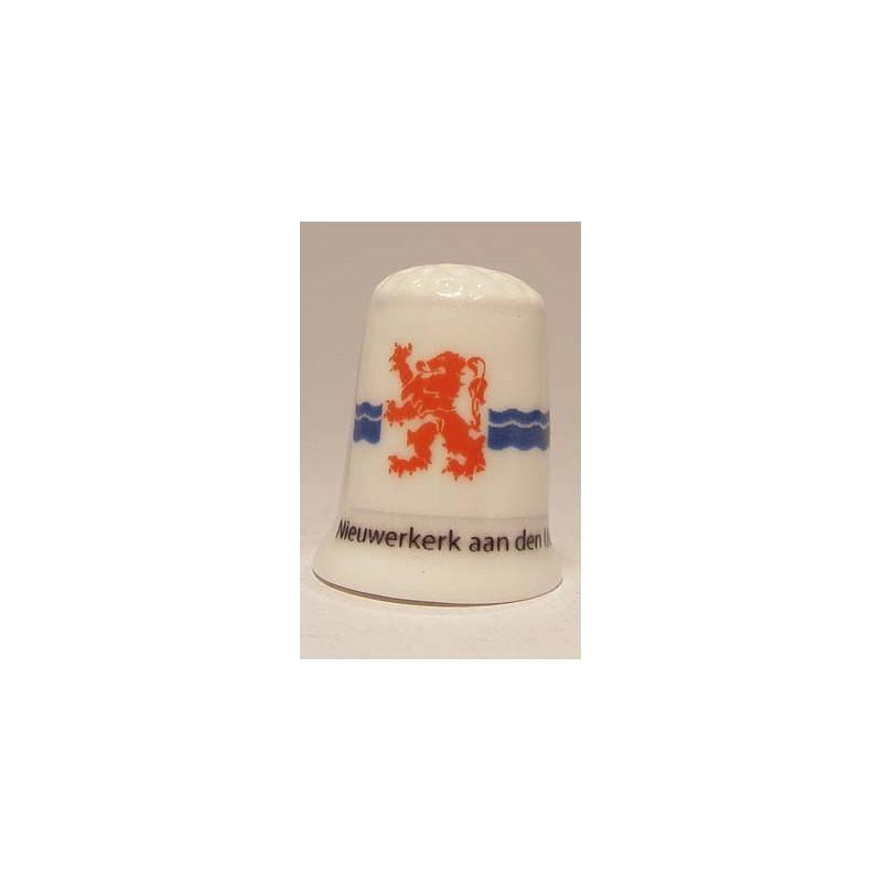 Own digital photo logo advertising on a porcelain oil pepper and salt set