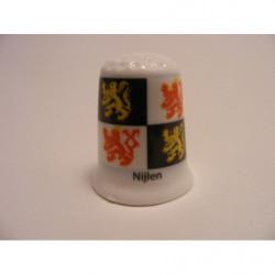 Eigen digitale foto logo reclame op een porselein beker koffiebeker
