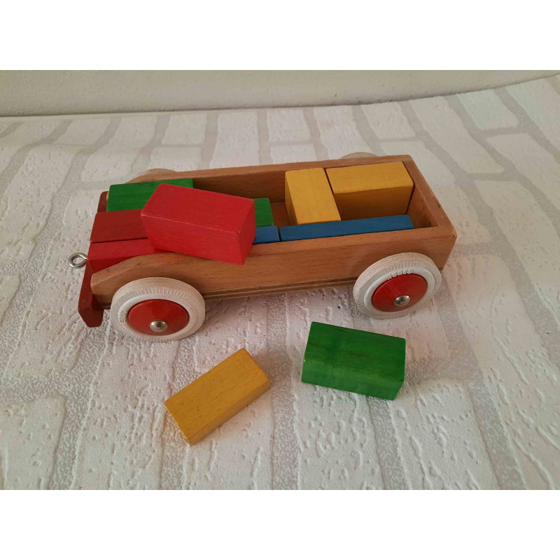 Teapot from Arcoroc with rabbits print