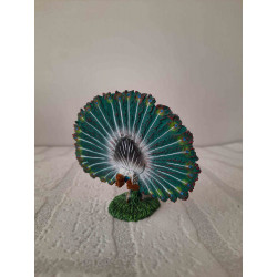 Cheetah cheetah from the series The great cats of the world The Franklin mint 1989