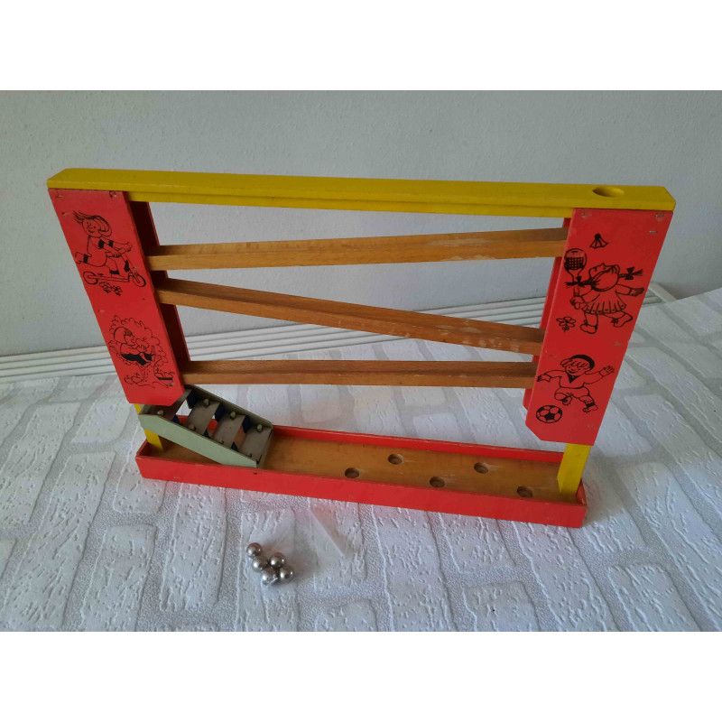 Cat of porcelain is sleeping on pillow