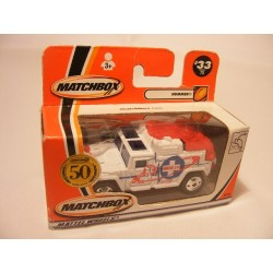 Hummer H1 Basse 33 Ambulance Matchbox 50 Jaar mb 33