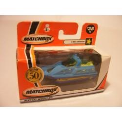 Aqua mission boat Matchbox 50 Years mb 38 blue