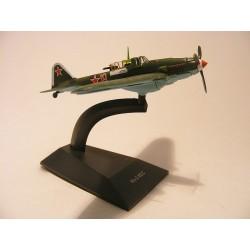 IL 2 KSS USSR vliegtuig WW2 1:118 Deagostini legergroen