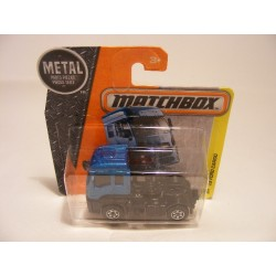 Ford Cargo 2013 Matchbox 2016 mb 34 donkerblauw