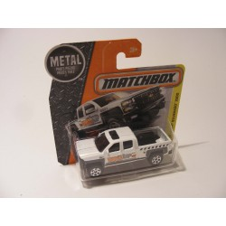 Chevrolet Silverado 1500 pickup 2014 Wazup Matchbox mb 2016-059 wit