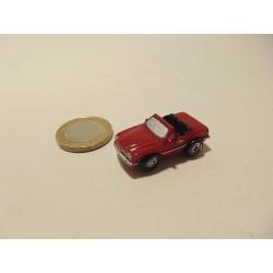 Mercedes 300 SL 1:100 minys rood