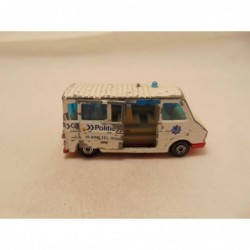 Ford Transit Corgi Pointers Real Food Fast red