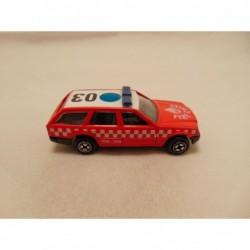 Mercedes 190 E 16 Corgi roodbruin