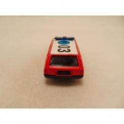 Mercedes 190 E 16 Corgi 1:38 zilverblauw