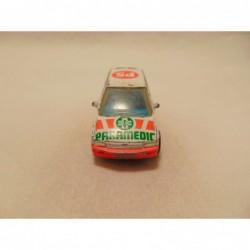 Bmw Z3 Cabrio 1:72 Cararama groenblauw