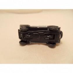 Porsche 356 Coupe 1:72 Cararama zwart