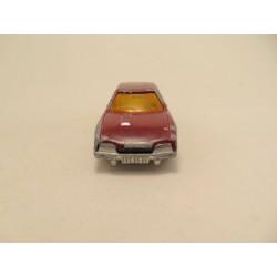 Bmw 323i cabrio Matchbox rood