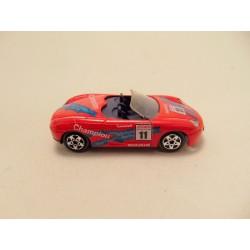 Simca 1308 GT Majorette 1:60 zilverkleurig