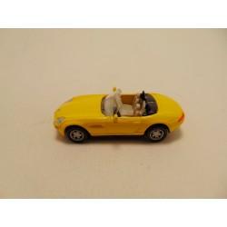 Volkswagen Kever cabrio 1:76 Cararama geel