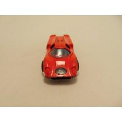 Porsche 550A spyder 1:72 Cararama zilverkleurig