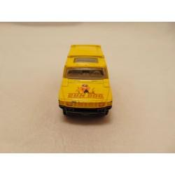 Jeep CJ7 Renegade SUV 1977 Brandweer Fire chief 1:64 rood