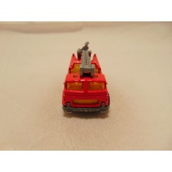 Opel Kadett GSi 1:57 politie Police Matchbox wit