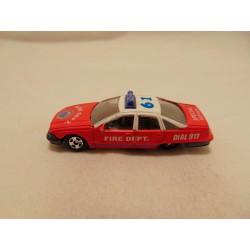 Ambulance SaberTooth Hot wheels 2001-042 Fossil Fuels Series purple
