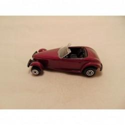 Jaguar SS100 Matchbox rood