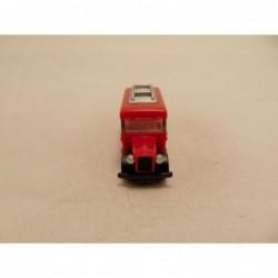 Mercedes Unimog Brandweer Solido 1:50