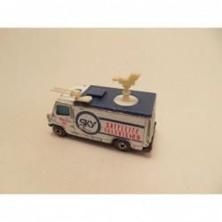 Fiat 131 Politie 1:64 Guisval wit