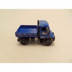 Ford F350 kraanwagen 1:64 Husky models blauw
