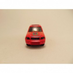 Ford Sierra Rally Pirelli 1:64 Guiloy rood