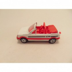 Mercedes 260SEL 1:64 MC Toys blauw