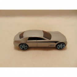 Mini Cooper 1:64 Motormax blauw