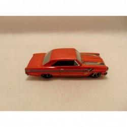 Nissan 300 ZX fairlady 1:64 Edocar rood