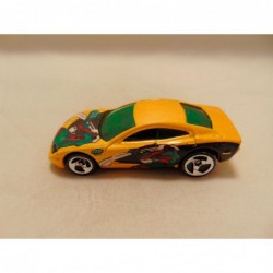 Nissan 300 ZX fairlady 1:64 oranje