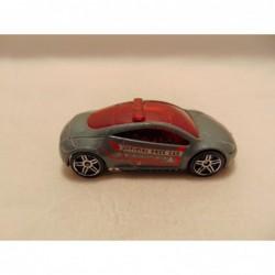 Pontiac Firebird Trans AM 1:64 Yat ming zilverkleurig