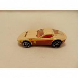 Fiat Abarth 500 Bburago 1:24 wit