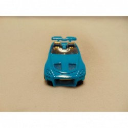 Bmw Z1 cabrio 1:38 Edocar zilverkleurig