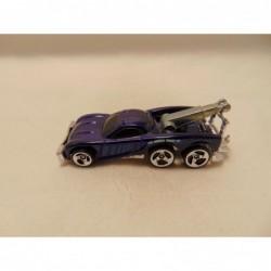 Bmw Z8 cabrio 1:38 Maisto donkerblauw
