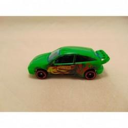 Chevrolet Corvette 98 1:32 Newray zilverkleurig grijs