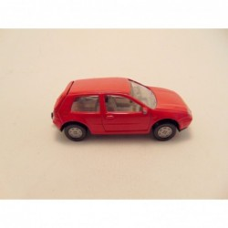 Volkswagen Touareg 2003 Kinsmart 1:38 zilverkleurig