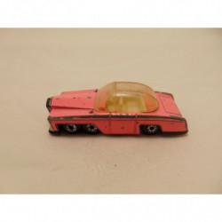 Ford Mustang Boss 32 op een porselein vingerhoedje